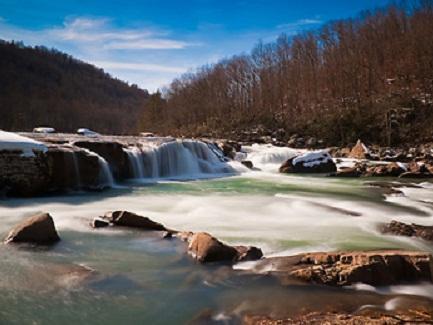 Arden Falls Winter
