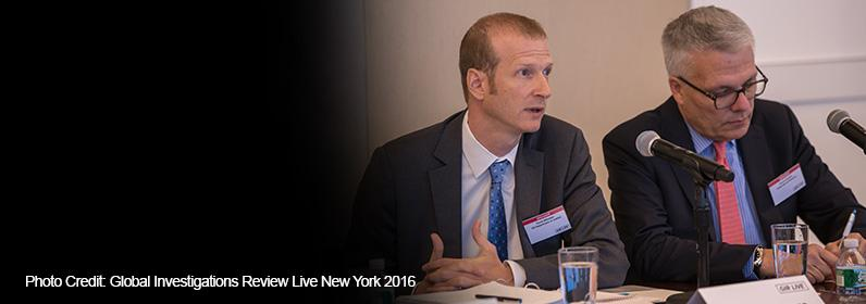 PDAAG Bitkower speaks at the Global Investigations Review Live New York 2016