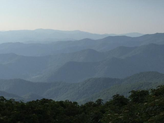 Blue Ridge Mount.