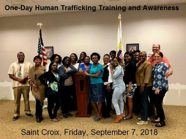 Blue Campaign Training and Awareness Event, St. Croix, Sept. 7, 2018