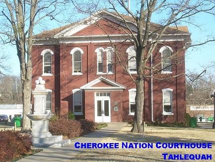 Cherokee Nation Courthouse Tahlequah