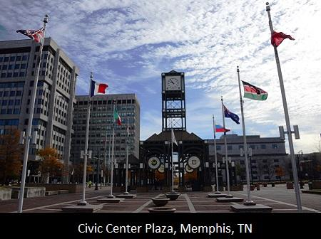 Memphis Civic Center Plaza