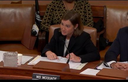 USA McQuade testifies before Congress