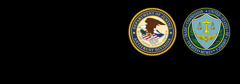 Department of Justice and Federal Trade Commission Seals
