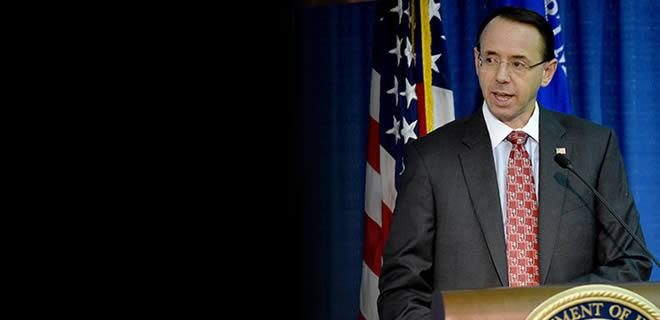 Deputy Attorney General Rosenstein Delivers Remarks at the Right to Counsel National Consortium Third Annual Meeting