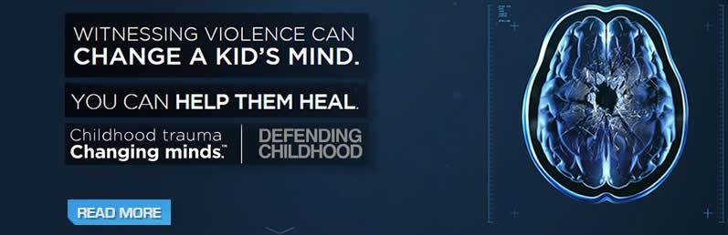 Witnessing violence can change a kid's mind. You can help them heal.