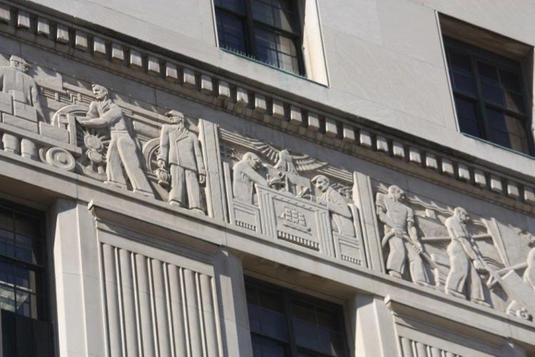 Detroit Court Mural