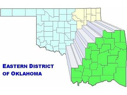 Eastern District of Oklahoma Map