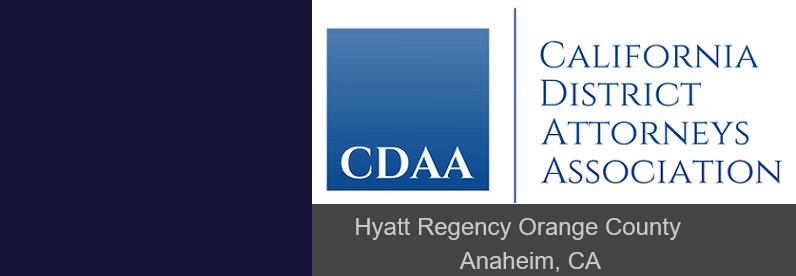 CDAA National Elder Adult Symposium April 15-18, 2019 at Anaheim, CA