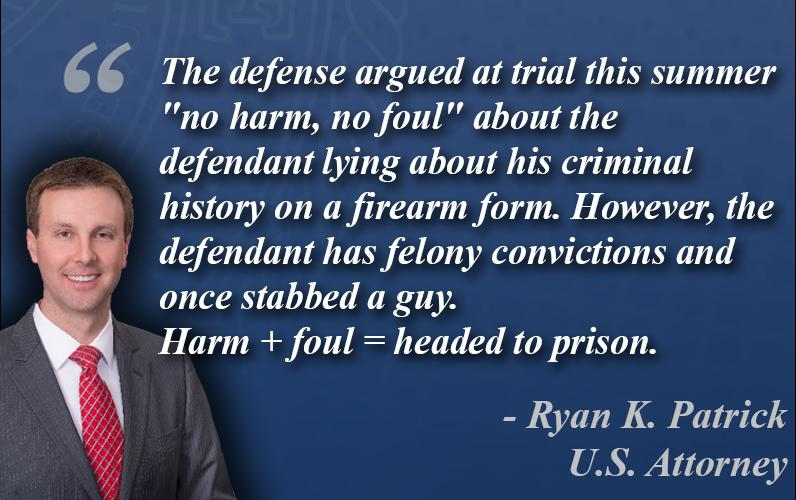 USA quote for firearms case