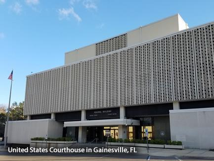 United States Courthouse in Gainesville, FL