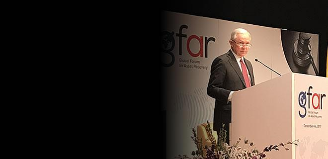 Attorney General Sessions Speaks at the Global Forum on Asset Recovery Hosted by the United States and the United Kingdom