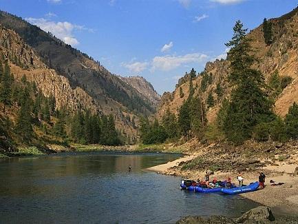 Rafting Idaho Rivers