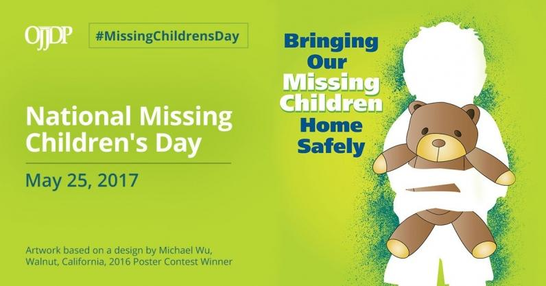 The Justice Department Commemorates National Missing Children's Day