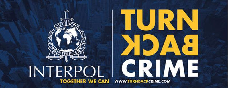 Link to Interpol; together we can turn back crime