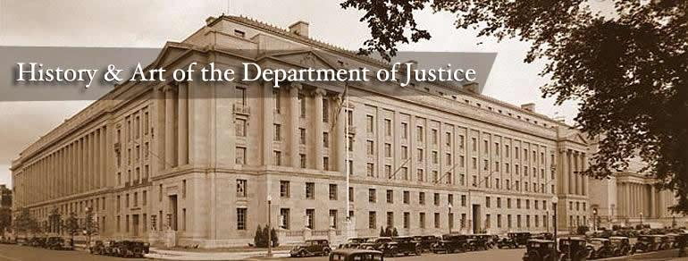 Historic image of RFK Main Justice Building -- History and Art of the Department of Justice