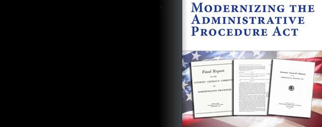 Modernizing the Administrative Procedure Act