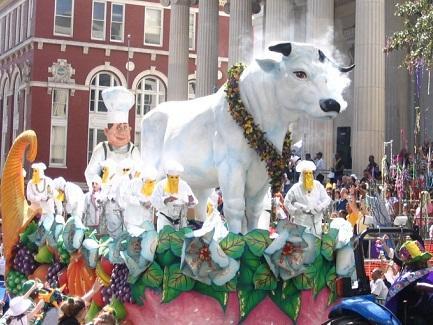 Mardi Gras Rex Parade, New Orleans, LA