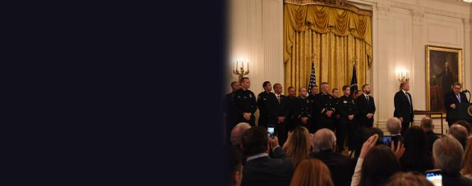 : Attorney General William P. Barr Joins President Donald J. Trump in Awarding the Medal of Valor to 14 Public Safety Officers