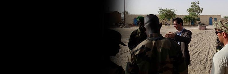 OPDAT Niger Banner