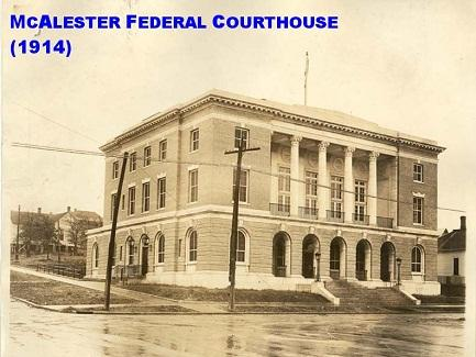 McAlester Federal Courthouse 1914