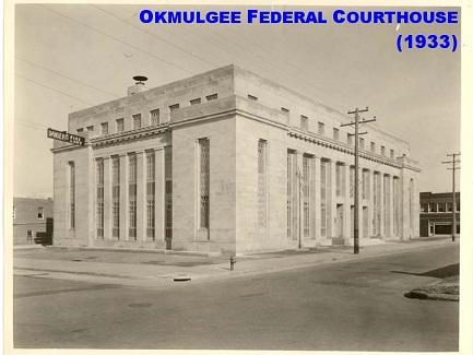 Okmulgee Federal Courthouse 1933