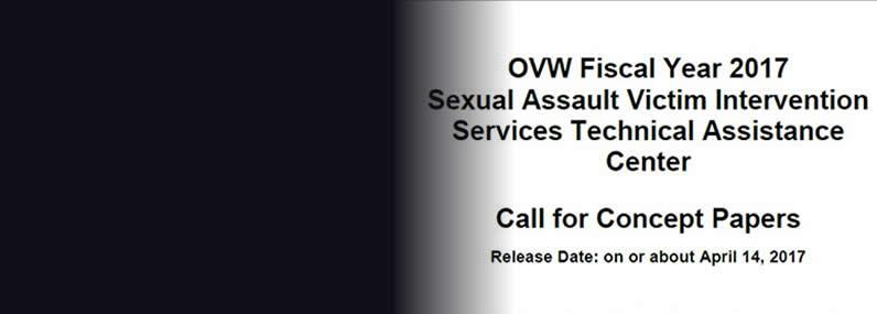 Funding Opportunity: Implement Lessons From the Sexual Assault Demonstration Initiative