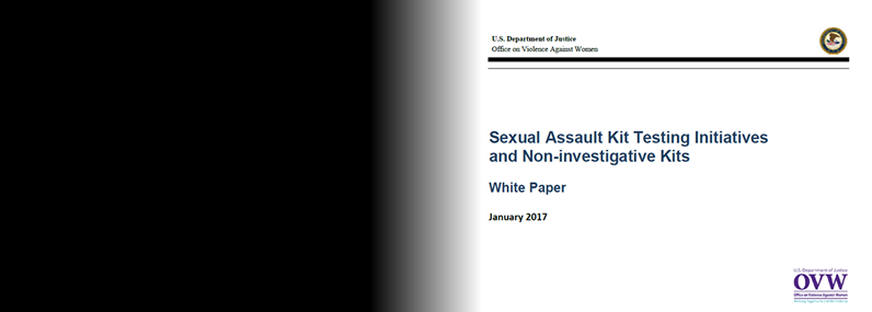 White Paper on Sexual Assault Kits