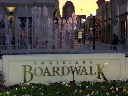 Shreveport-Bossier Louisiana Boardwalk