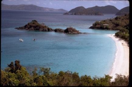 trunk bay Saint John US Virgin Islands