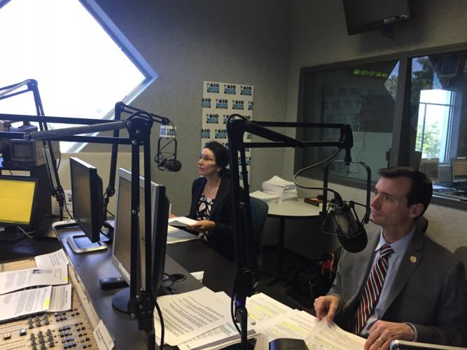 Wifredo at 610 WIOD News Radio