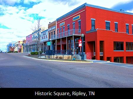 Historic Square, Ripley, TN