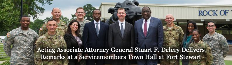 Acting Associate Attorney General Stuart F. Delery Announces the Launch of the Servicemembers and Veterans Initiative
