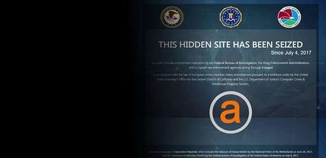 AlphaBay, the Largest Online 'Dark Market,' Shut Down