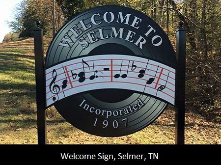Welcome to Selmer TN Sign