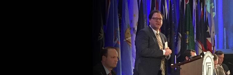 Servicemembers and Veterans Initiative Assistant Director Andrew Braniff Delivers Remarks at the 2018 Winter Meeting of the National Association of Attorneys General