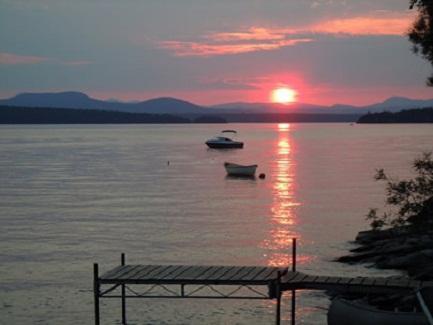 Sunset on Lake Iroquois