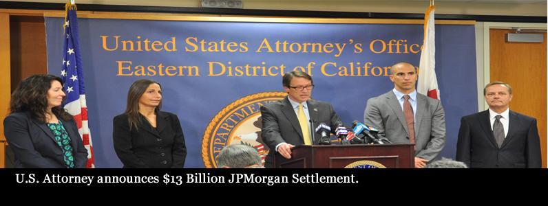 $13 Billion JPMorgan Settlement