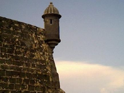 'Garitas' found in Fort San Felipe del Morro