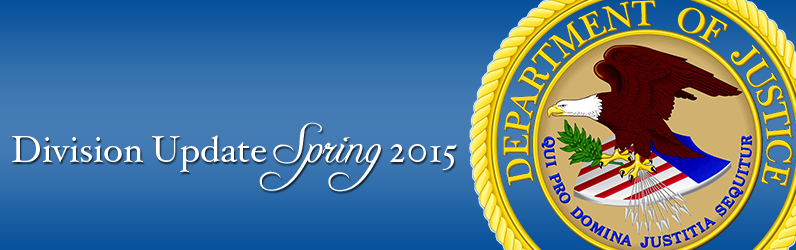 Division Update Spring 2015