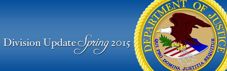 Division Update Spring 2015