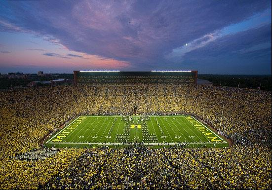 University of Michigan Stadium