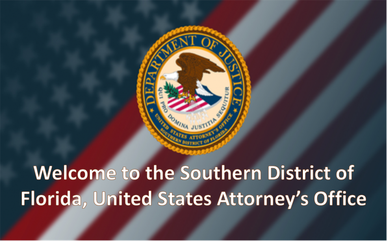 Southern District of Florida | Department of Justice