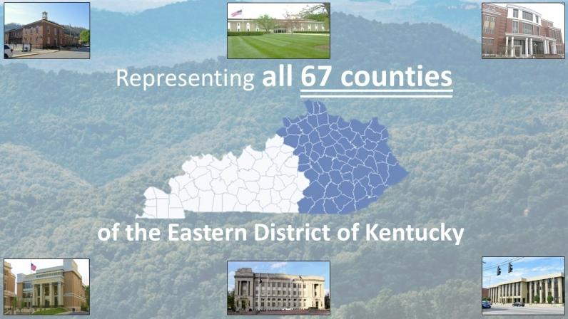 Representing all 67 counties of the Eastern District of Kentucky #USAO_EDKY