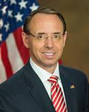 Deputy Attorney General Rod J. Rosenstein