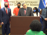Attorney General Barr announced updates on Operation Legend during a press conference in Kansas City, Missouri