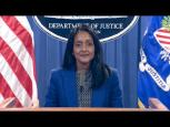 Embedded thumbnail for Associate Attorney General Vanita Gupta Provides Remarks on National Community Policing Week