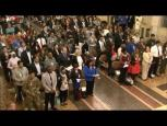 Embedded thumbnail for Attorney General Lynch Hosts Naturalization Ceremony with USCIS Director Rodríguez