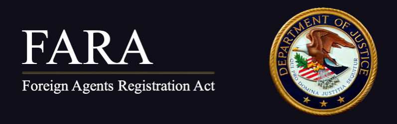 Foreign Agents Registration Act | Department of Justice