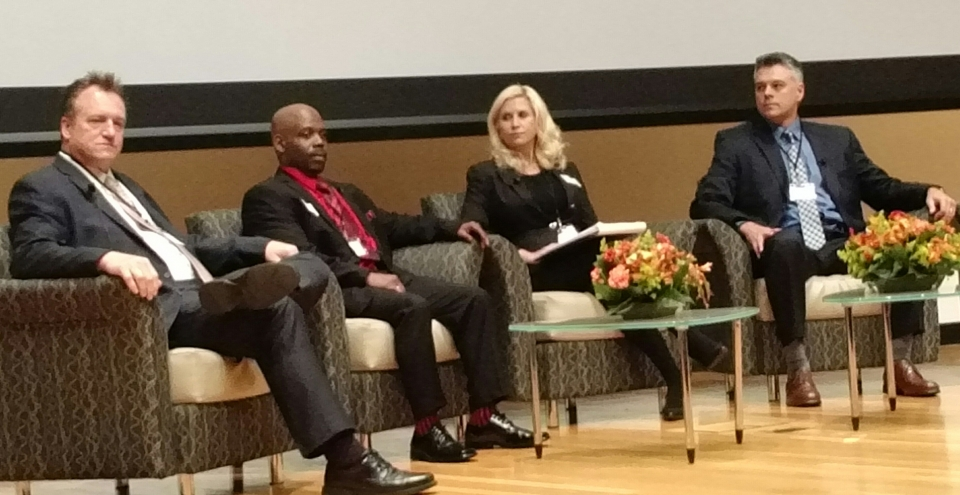 A Rhode Island employer, former inmate, employment attorney and US Probation lead a discussion about hiring ex-offenders